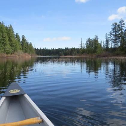 Maple Lake Vancouver Island