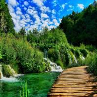 National Park Plitvice Lake Croatia